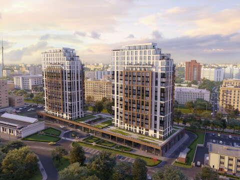 Клубный дом Soho+Noho. Ключи в 2020 году! Апартаменты с отделкой у м. Белорусская